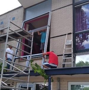 Houten kozijnen vervangen in Almere Parkwijk