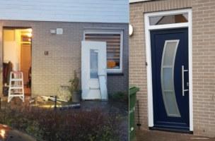Een nieuwe kunststof voordeur voor Almere Haven