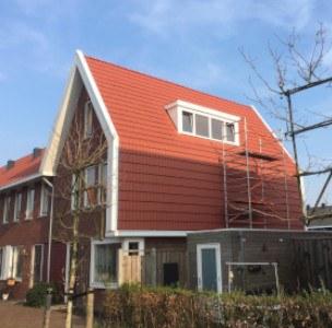 Kunststof dakkapel voor woning in Nobelhorst Almere